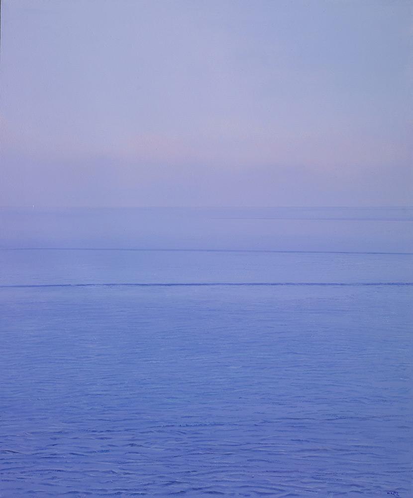 in questo mare olio su tela